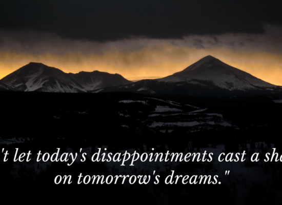 Disappointment quote