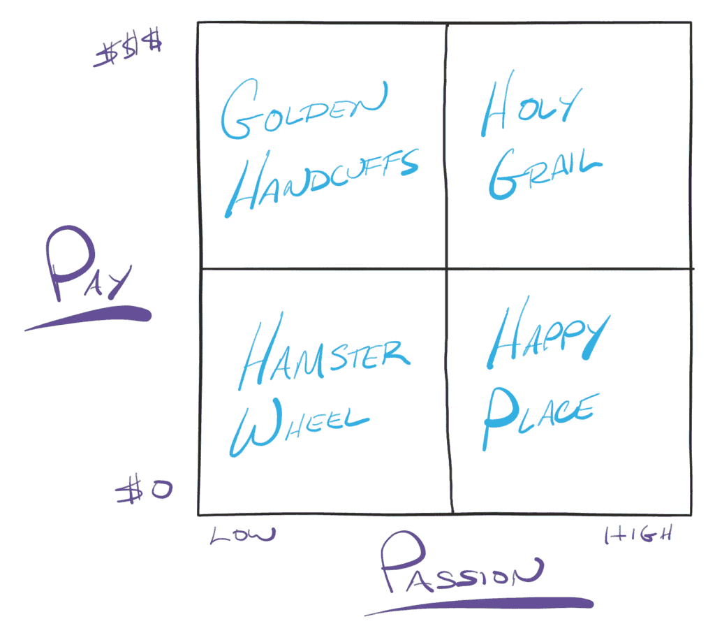 Pay vs Passion Matrix