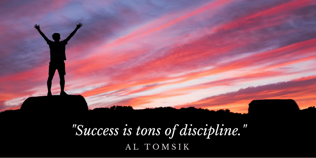 Life lessons on self discipline